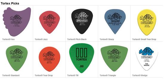 图:Dunlop_Tortex拨片有多种型号可选。.jpg