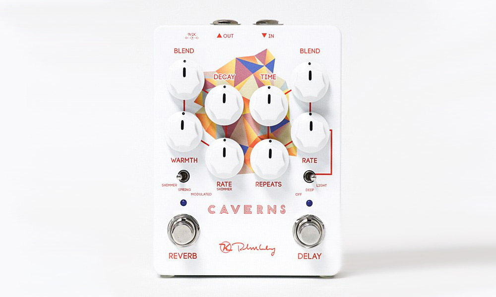 单块效果器_@_拨片网_Keeley_Caverns_V2_DelayReverb_Effects_Pedal.jpg